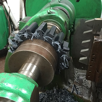 example of our specialist machining gears cutting service