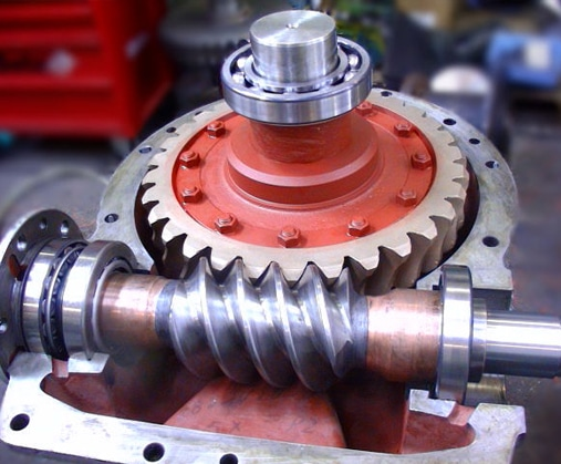 gearbox repair example after