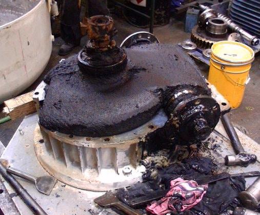 gearbox repairs example before